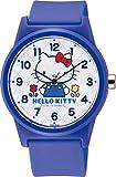 [シチズン Q&Q] 腕時計 アナログ ハローキティ 防水 ウレタンベルト HK30-003 レディース ブルー