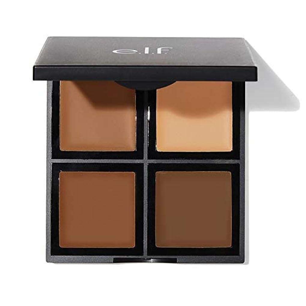 株式食器棚コンサルタントe.l.f. Studio Foundation Palette Medium / Dark (並行輸入品)