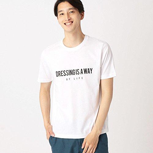 (コムサ イズム) COMME CA ISM プリントTシャツ 47-62TG22-108 L ホワイト
