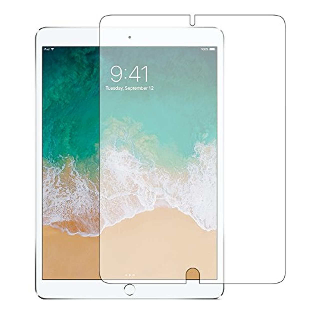 ラッカス緊急幹メディアカバーマーケット【専用】Apple iPad Pro (10.5)機種用【ペーパーライク 反射防止 液晶 保護 フィルム】