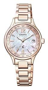 [シチズン]CITIZEN 腕時計 xC クロスシー エコ・ドライブ 電波時計 ティタニアライン ハッピーフライトシリーズ サクラピンク レディス横断企画「New Time,New Me」特別限定モデル EC1164-53X レディース