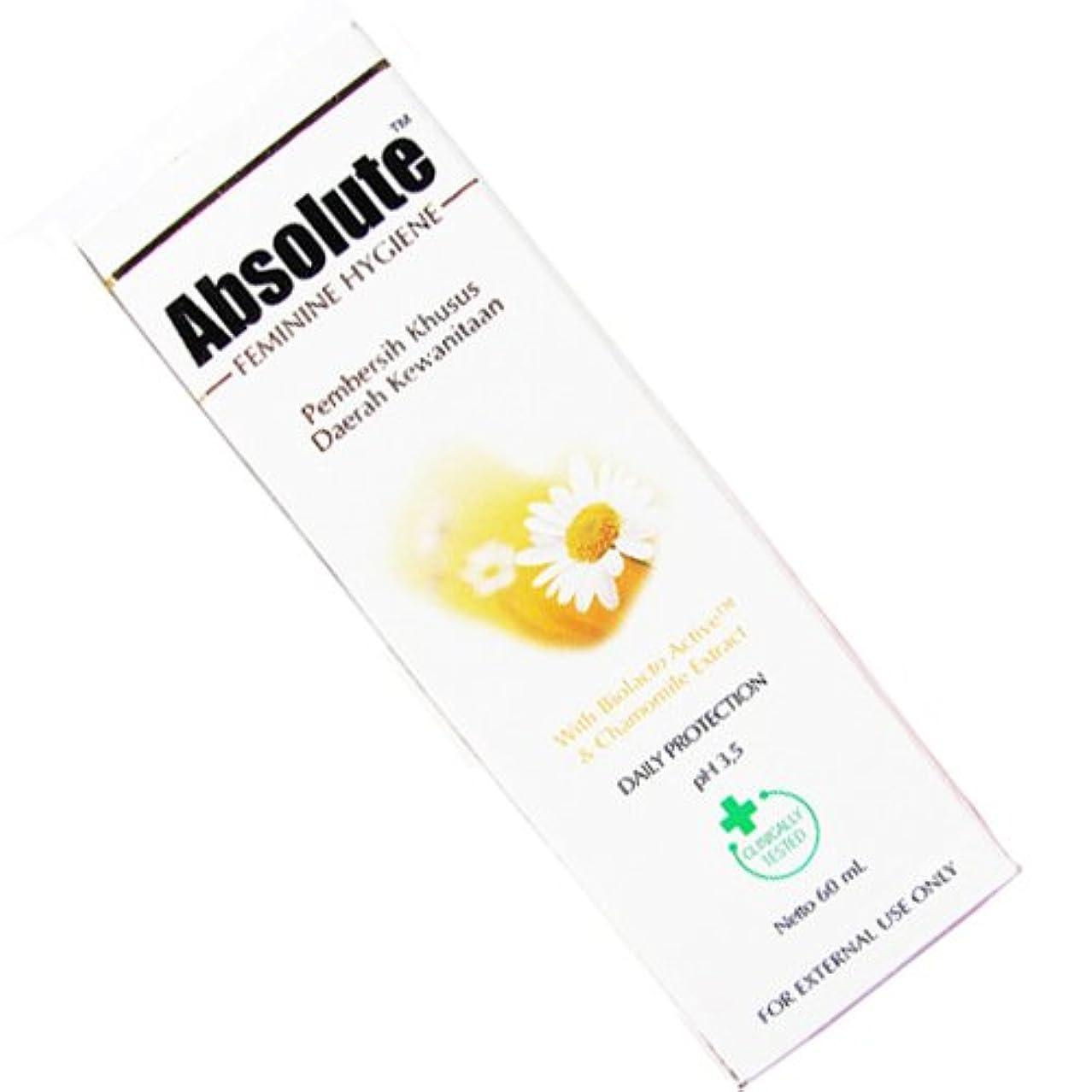 ニュージーランド再編成する滑りやすいAbsolute(アブソリュート)女性用液体ソープ 60ml [並行輸入品][海外直送品]