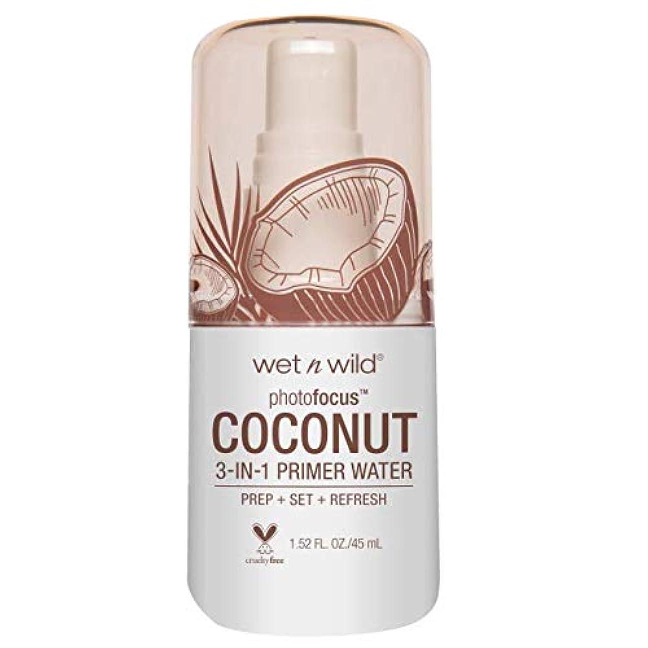 分析的ええへこみ(6 Pack) WET N WILD Photo Focus Primer Water - In Love With Coco (並行輸入品)