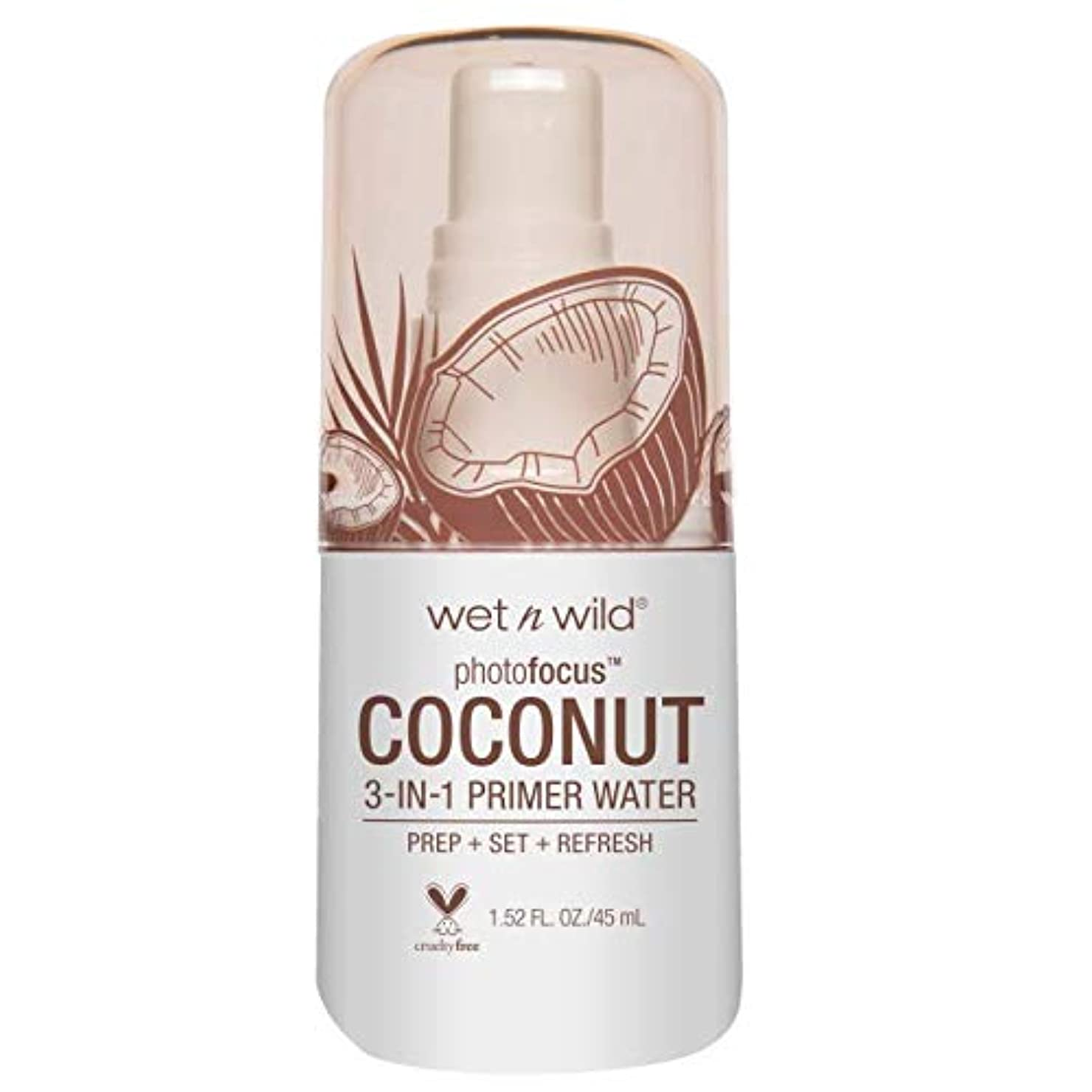 説得力のあるポータブルできる(6 Pack) WET N WILD Photo Focus Primer Water - In Love With Coco (並行輸入品)
