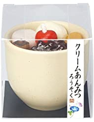 kameyama candle(カメヤマキャンドル) クリームあんみつキャンドル(86220000)