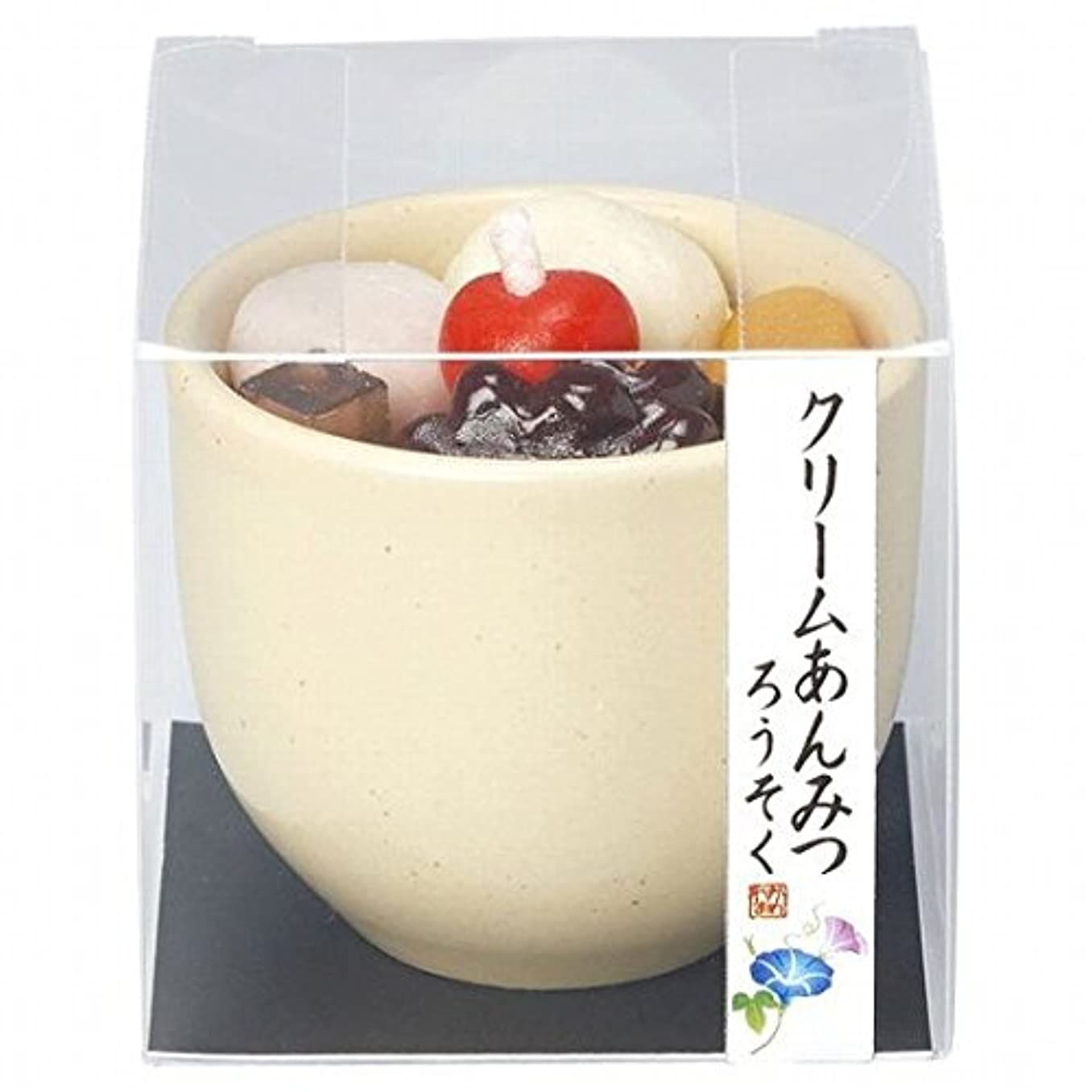 コイン会計製油所kameyama candle(カメヤマキャンドル) クリームあんみつキャンドル(86220000)