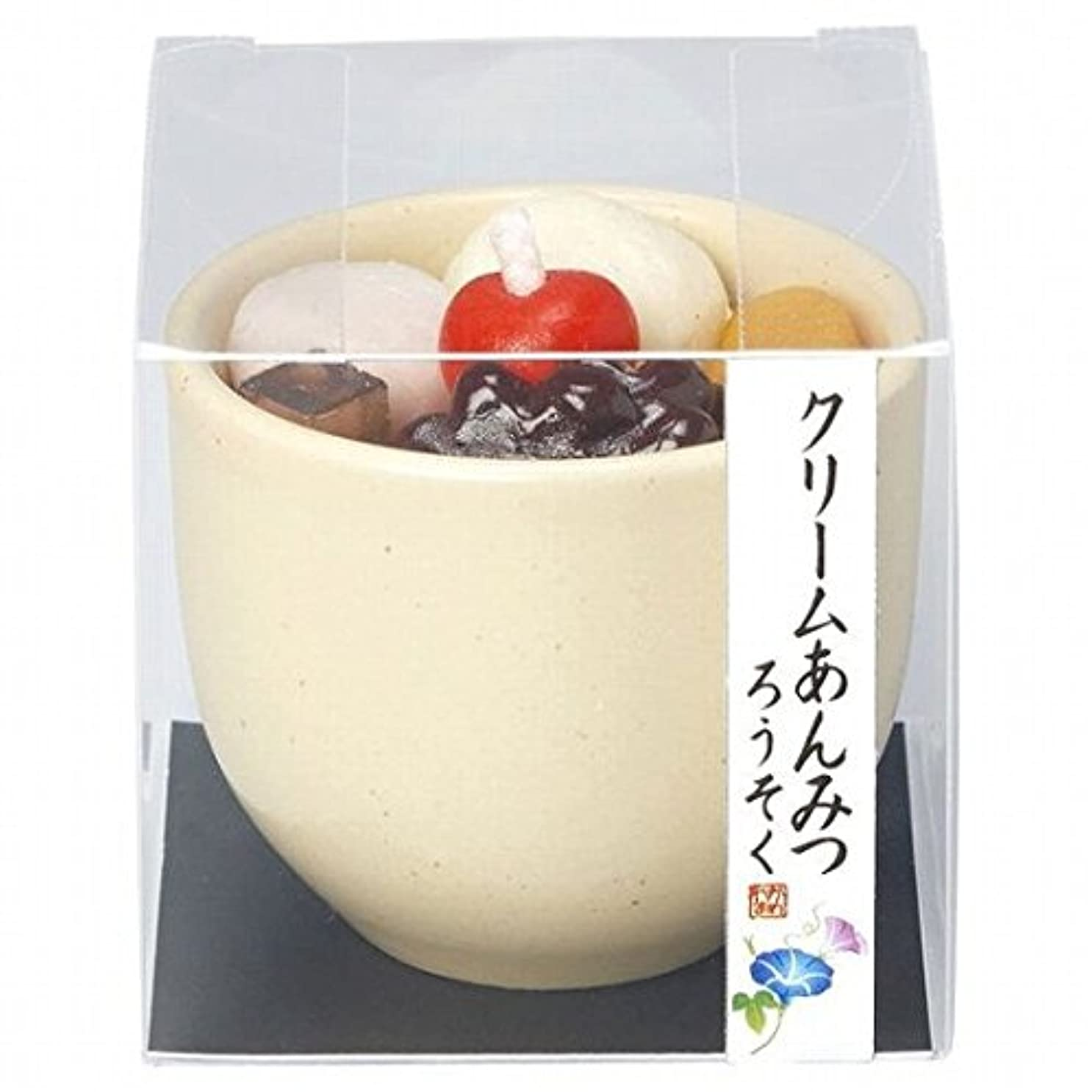 説得エリート舌なkameyama candle(カメヤマキャンドル) クリームあんみつキャンドル(86220000)
