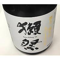 獺祭(だっさい) 純米大吟醸 発泡にごり酒 スパークリング 三割九分 720ml ■要冷蔵