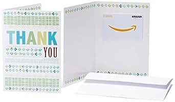 Amazonギフト券(グリーティングカードタイプ ) - 2,000円 (ありがとう): Amazonギフト券