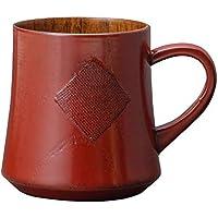 天然素材カップ 木製のカップ くつろぎマグカップ(根来)