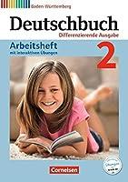 Deutschbuch Band 2: 6. Schuljahr - Realschule Baden-Wuerttemberg - Arbeitsheft mit interaktiven Uebungen auf scook.de