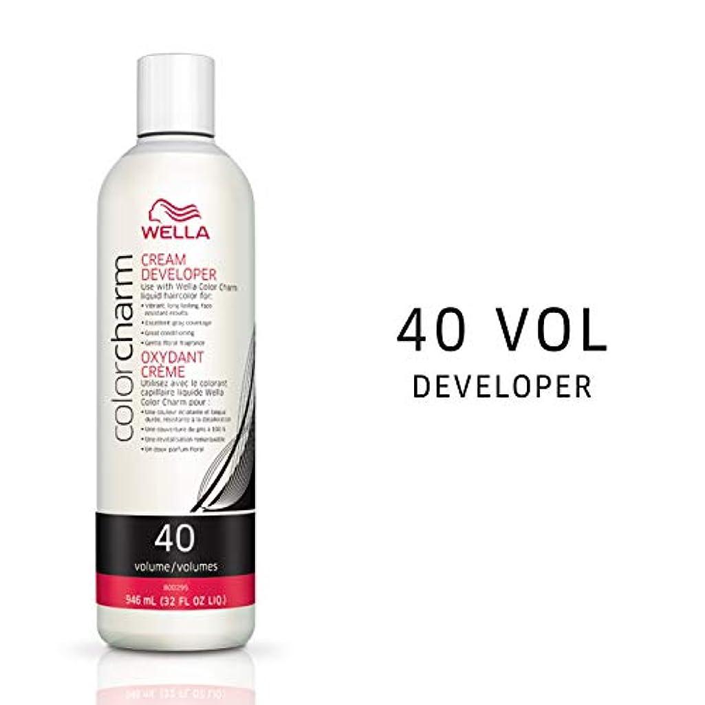 電圧優しい書き出すWella CC Creme 40 Volume 945 ml Developer (並行輸入品)