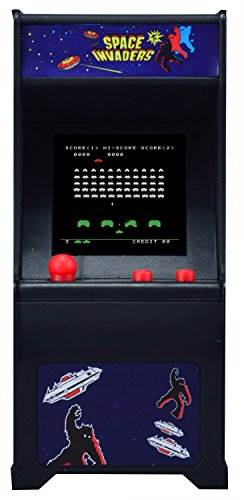 (Space Invaders) - Tiny Arcade Space Invaders Miniature Arcade Game