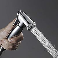 ZXF 現代の金属銀銅ビデスプレーガンブースターノズル浴室用トイレ対応高圧洗浄機銅シャワー蛇口 水浴する
