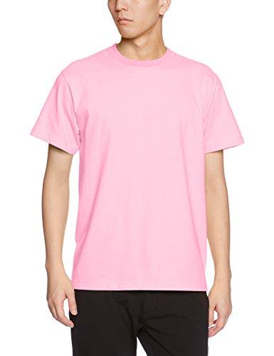 Athle (ユナイテッドアスレ) UnitedAthle 5.6オンス ハイクオリティー Tシャツ 500101 066 ピンク XL