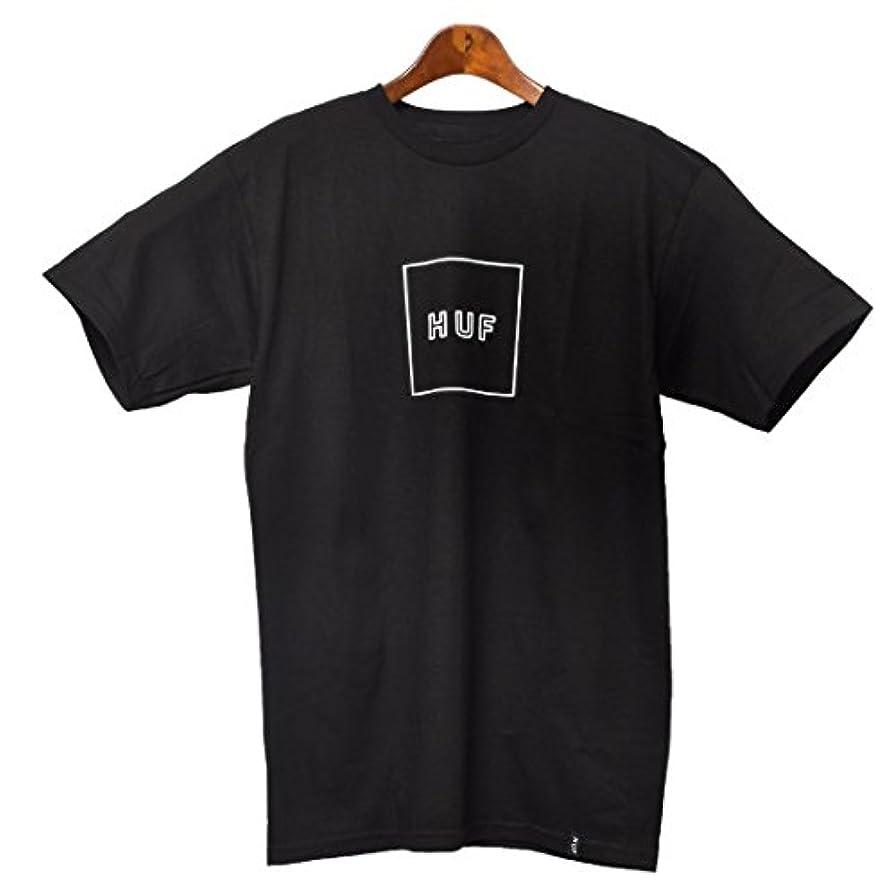 指令段階インストール(ハフ)HUF ボックス ロゴ パフ Tシャツ TS00033 カットソー ロゴ ストリート メンズ [並行輸入品]