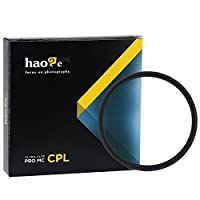 Haoge 55mm MC CPLマルチコートCircular Polarizer偏光レンズフィルタfor Canon Nikon Sony Minolta Pentax Olympus Panasonic Leica Zeiss TAMRONデジタルカメラDSLRレンズ