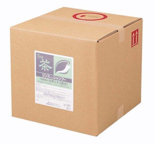 熊野油脂 業務用 SCRITT(スクリット) お茶リンスインシャンプー 18L