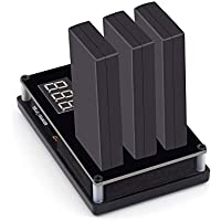 Rcharlance DJI Tello バッテリー 充電器 3 in 1 急速充電 携帯便利 ラピッド平行充電器 USB/AC-DC多方式充電 充電情報表示 電池保護 バッテリマネージャ ドローン専用充電ハブ