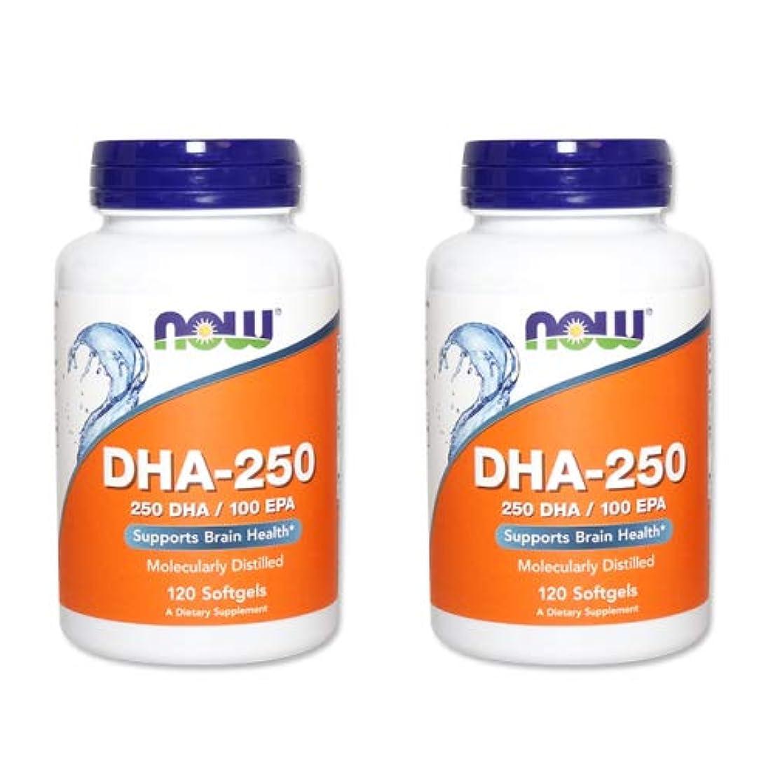 識別ソース良性【2個セット】【粒小さめ低含有タイプ】DHA-250 120粒(DHA&EPA配合) [海外直送品]