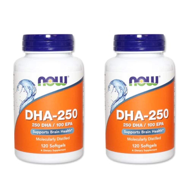 所有権甘味効果的に【2個セット】【粒小さめ低含有タイプ】DHA-250 120粒(DHA&EPA配合) [海外直送品]