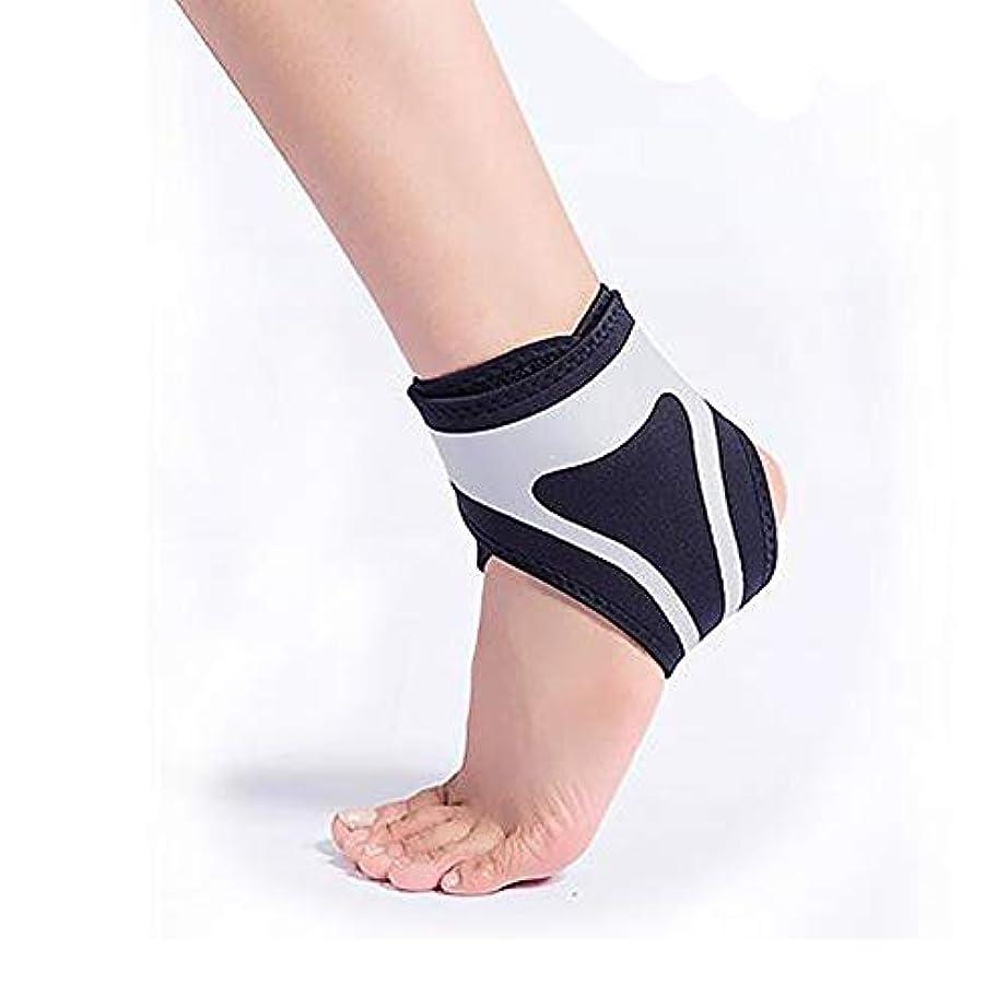 リンケージファッション詐欺師足首サポートブレース - 回復力と自信を高めます - 関節炎、腱炎、スポーツ捻挫回復に最適(左、右、1ピースの区別)