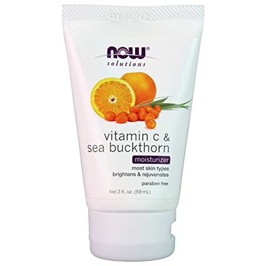 海外直送品 Now Foods Vitamin C & Sea Buckthorn Moisturizer, 2 oz