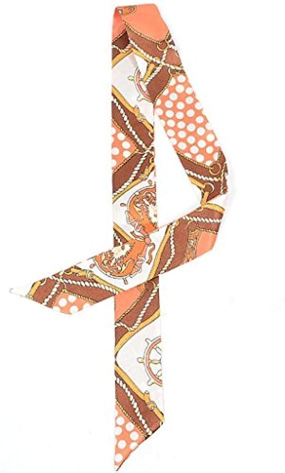 紫の住むホステス(トヨベイ) Toyobuy レディース エレガント アクセサリー スカーフ バック リボン 巻きつけ 飾り スカーフ 滑らか 100 * 4.5cm