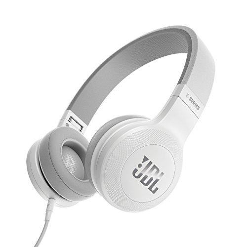 JBL E35 ヘッドホン 密閉型/オンイヤー/マイク付 ホワイト JBLE35WHT 【国内正規品】