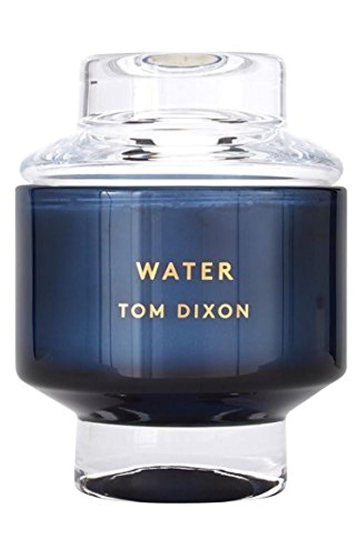 意気揚々保証金ガラスTom Dixon 'Water' Candle (トム ディクソン 'ウオーター' キャンドル中)Midium