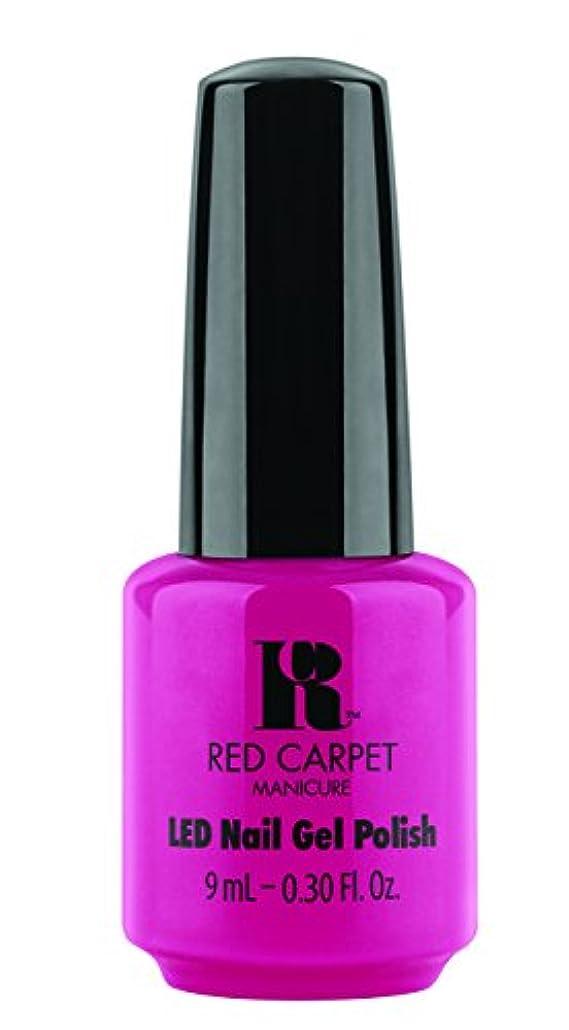 司法タフ心配するRed Carpet Manicure - LED Nail Gel Polish - Paparazzied - 0.3oz / 9ml