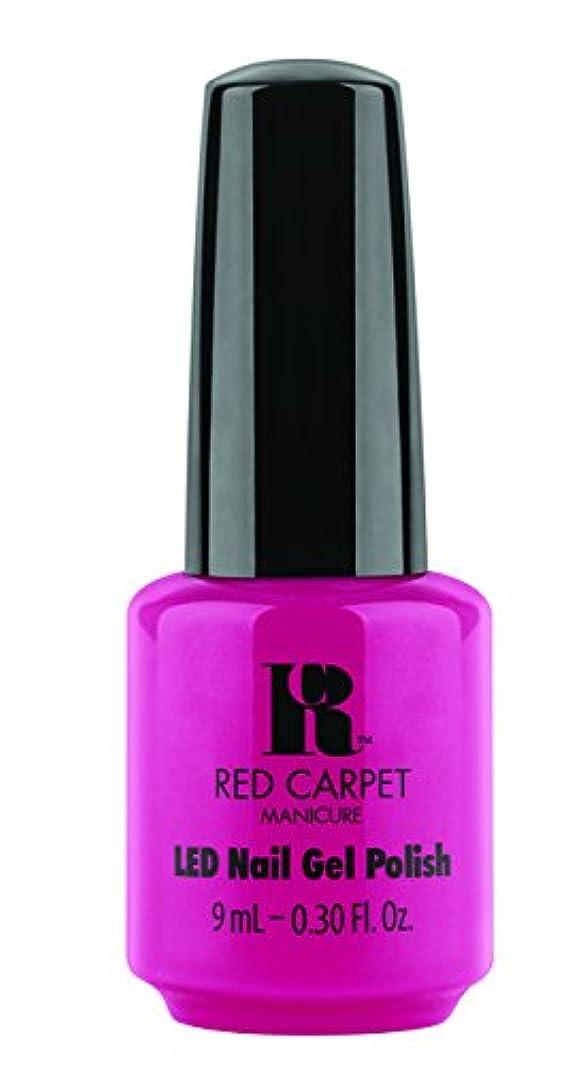 しわ生命体暗唱するRed Carpet Manicure - LED Nail Gel Polish - Paparazzied - 0.3oz / 9ml