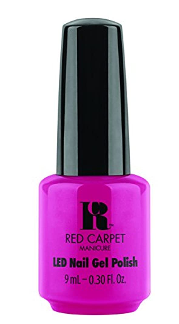 巡礼者必需品カーテンRed Carpet Manicure - LED Nail Gel Polish - Paparazzied - 0.3oz / 9ml
