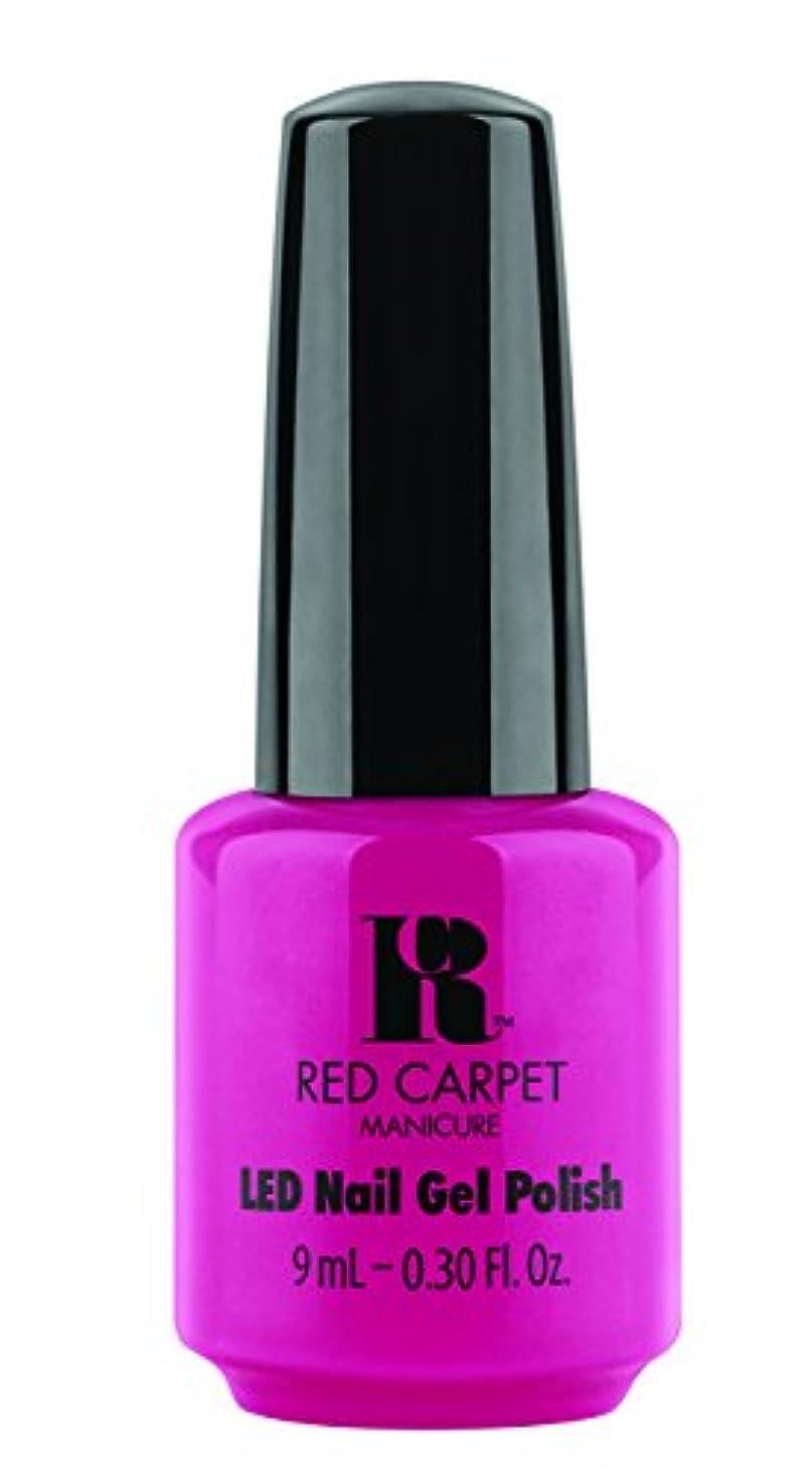 師匠海洋の赤外線Red Carpet Manicure - LED Nail Gel Polish - Paparazzied - 0.3oz / 9ml