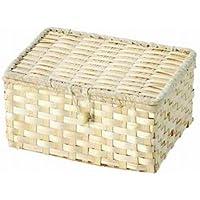 WrappingItems Bamboo バンブーバスケット フタ付き 25-28