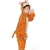 Ovov Kid 's Animal Onesieコスプレコスチュームパジャマユニセックス子Sleepsuit forパーティー、ハロウィンクリスマス