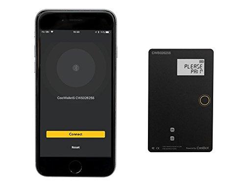 クールウォレットS |ワイヤレスビットコインハードウェア財布