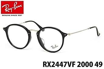 【レイバン国内正規品販売認定店】RX2447VF 2000 49サイズ Ray-Ban (レイバン) メガネ ICONS,ROUND 丸メガネ メンズ レディース