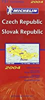 Czech Republic and Slovak Republic 2004 (Michelin National Maps)