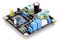 CSR8675ブルートゥース受信+ PCM5102Aデコードモジュール (アンテナベースは、(写真のように)モジュールの前面に取り付けられています。)