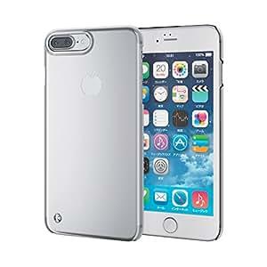 エレコム iPhone7 Plus ケース [iPhone8 Plus対応] シェルカバー ストラップホール付き クリア クリア PM-A16LPVSTCR
