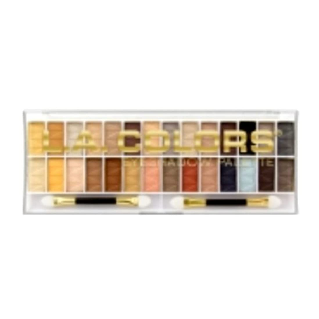 である頑張る挨拶L.A. COLORS 28 Color Eyeshadow Palette - Hollywood (並行輸入品)