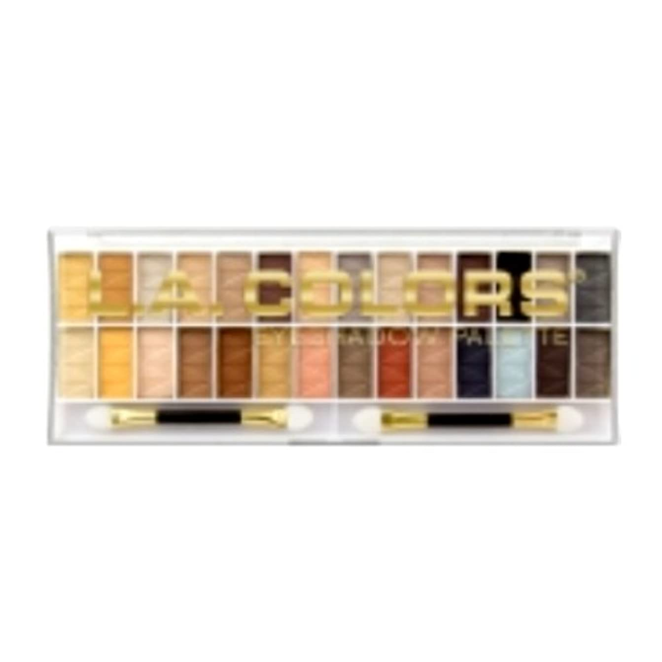 並外れてビーズことわざL.A. COLORS 28 Color Eyeshadow Palette - Hollywood (並行輸入品)