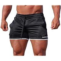 Adonis.Gear- Envy, Black W, Shorts, Bodybuilding, Gym, Training, Running, Mens