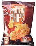 【8袋セット】 プロテインチップス (Protein Chips (32 grams) 8 Bags【並行輸入品】 (BBQ)