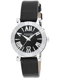 [ティファニー]Tiffany&Co. 腕時計 Atlas ブラック文字盤 自動巻 アリゲーター革ベルト Z1300.68.11A10A71A レディース 【並行輸入品】