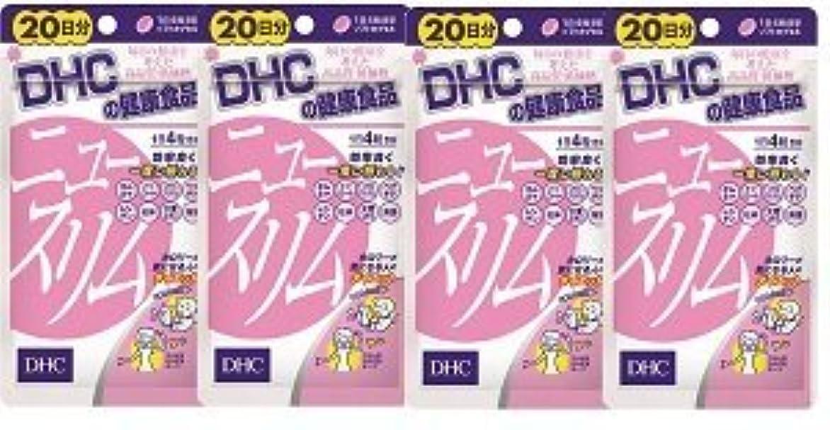 冷蔵庫石のスパイラル【???便】DHC ニュースリム 20日分(80粒)×4個セット