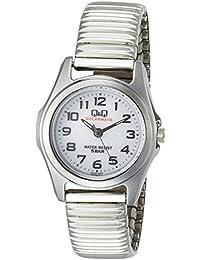 [シチズン キューアンドキュー]CITIZEN Q&Q 腕時計 ソーラー SOLARMATE アナログ ブレスレット ホワイト H045-204 レディース