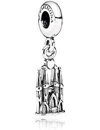 PANDORA Charms Sterling Silver Original Barcelona La Sagrada Familia Dangle Charm