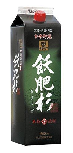 井上酒造 20°黒飫肥杉 芋 パック 1800ml